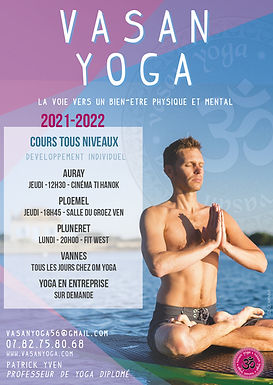 Patrick Yoga Ploemel Auray Carnac