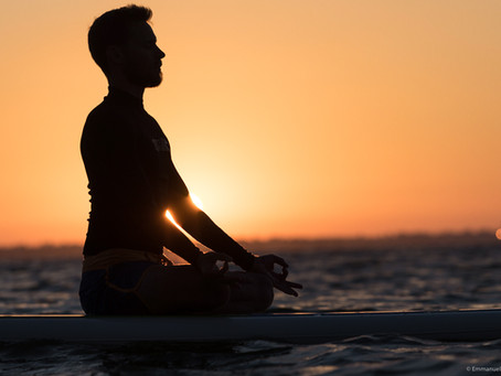 Stand Up paddle YogaA nouveau, envie de soleil, de mer, de yoga, de plénitude, porté sur l'Océan?