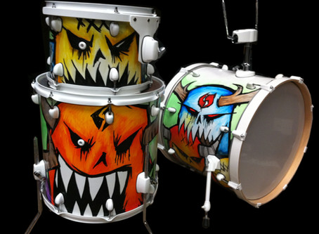 Welcome to RTCustoms Drum Diary