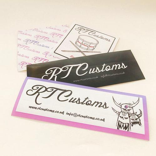 RTCustoms sticker set