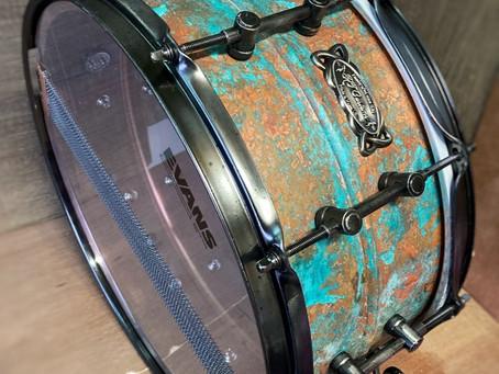 RTCustoms Copper Patina Snare