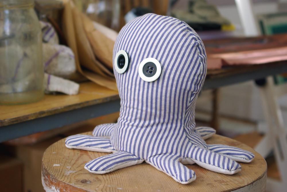 Book end or door stop, Octopus