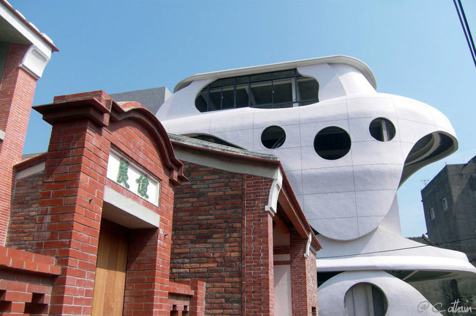 Futurist and Traditional architectures