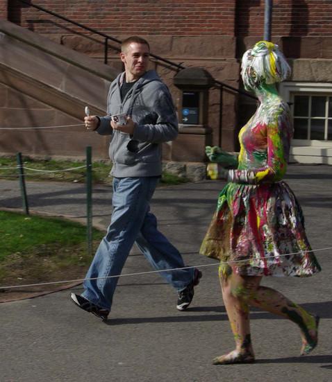 Harvard fresher initiation, Boston 2011.