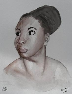 Nina Simone sketch