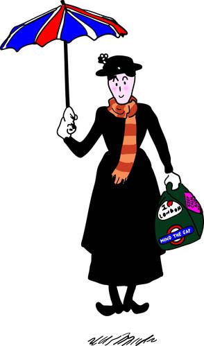 Mary Poppins illustration