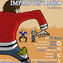 Posters Improvis'Action