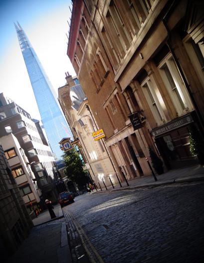 The shard, London.