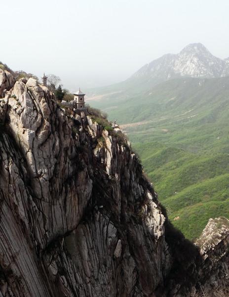 Shaolin mountains in Dengfeng