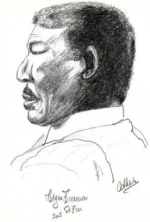 Morgan Freeman sketch