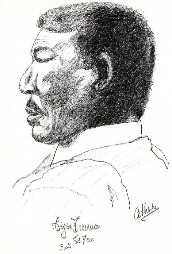 Morgan Freeman sketch