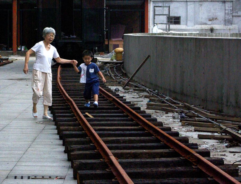 Nainai and her grandson