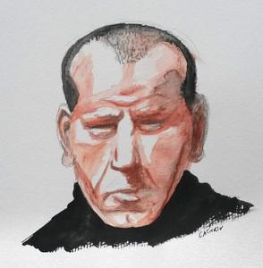 Jackson Pollock sketch