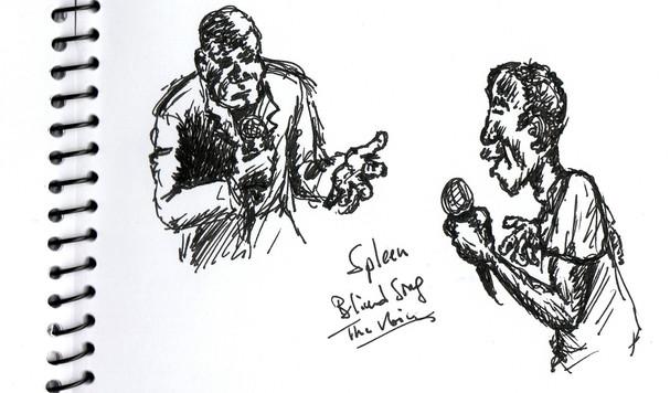 Spleen sketch