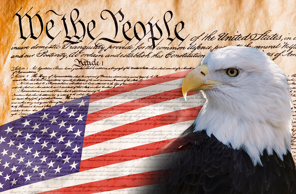 Constitution of America, We the People w