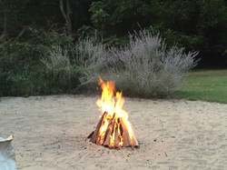 Blue Ridge Mountains Fire Ceremony