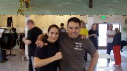 James Hirosima & Sara Winter Krav Maga Camp
