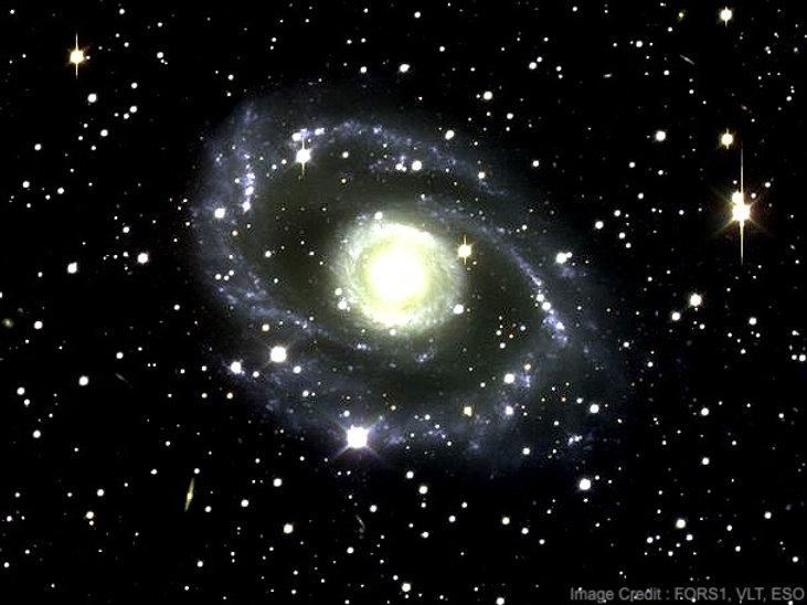Spiral Galaxy In Centaurus