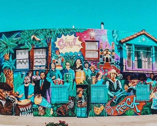 Mission District Murals - San Francisco