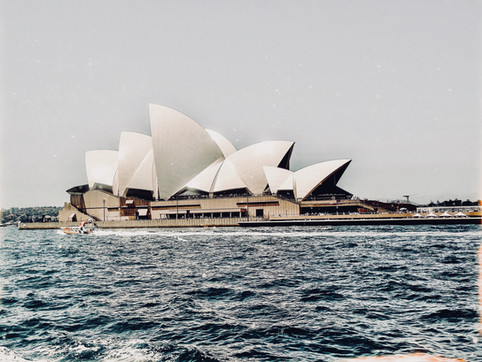 Manly Fairy's view of the Opera house