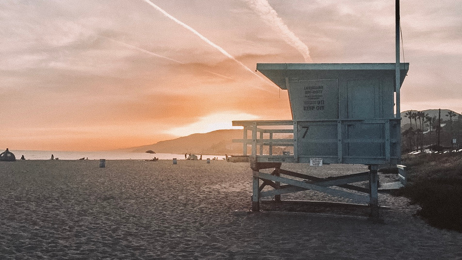 Will Rogers State Beach, Santa Monica