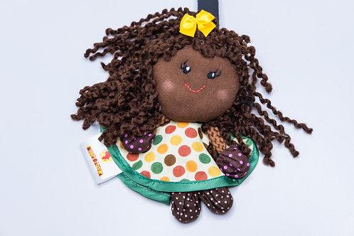 Boneca Mascote Chaveiro