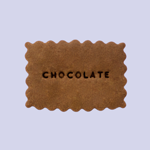 Chocolate (caja 24 galletas)