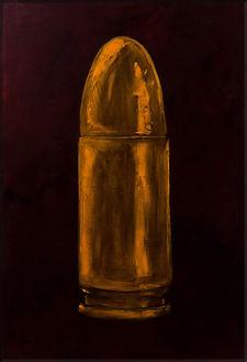 Celebrate the Bullet , 130x90, oil on ca