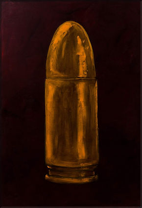 Celebrate the Bullet , 130x90, oil on ca