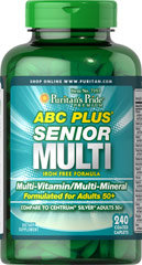 ABC Plus® Senior Multivitamin Multi-Mineral Formul