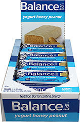 Yogurt Honey Peanut Balance Bars