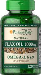 High Lignan Flax Oil 1000 mg