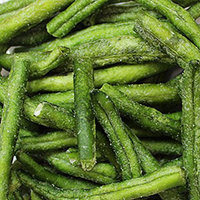 Healthy Snacks  String Green Bean Chips