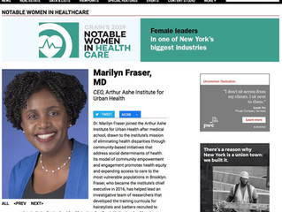 Marilyn Fraser, MD, named to Crain's 2019 Notable Women in Health Care