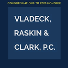 The 26th Annual Black Tie & Sneakers Gala of the Arthur Ashe Institute for Urban Health is a virtual event on Wednesday, October 14, 2020, honors Vladeck, Raskin & Clark, P.C.deckRaskinClark.png