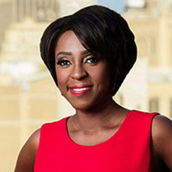 Cheryl Wills, Anchor of NY1 Live at Ten and Host of In Focus with Cheryl Wills, will host Arthur Ashe Institute's Sportsball 200 virtual gala on Wednesday, October 14, 2020.