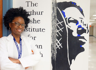 "Dr. Keisha Barry, SUNY 2017, HSA '09:                                      ""Seeing the Faces"