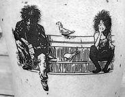 sandman tattoo by rat barse