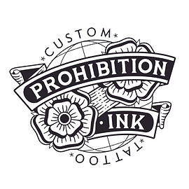 prohibition ink custom tattoo logo