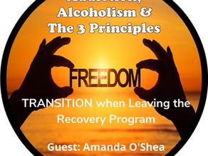 Ep. 41-The Transition Leaving a Recovery Program-Part 1