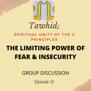 Ep. 11-The Limiting Power of Fear and Insecurity