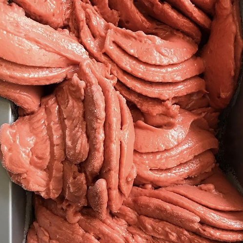 Watermelon and Strawberry Balsamic Sorbet