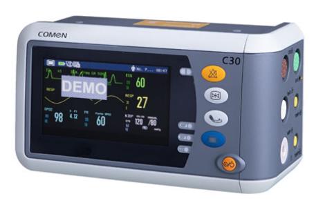 C30 – Monitor para Emergência e Transporte