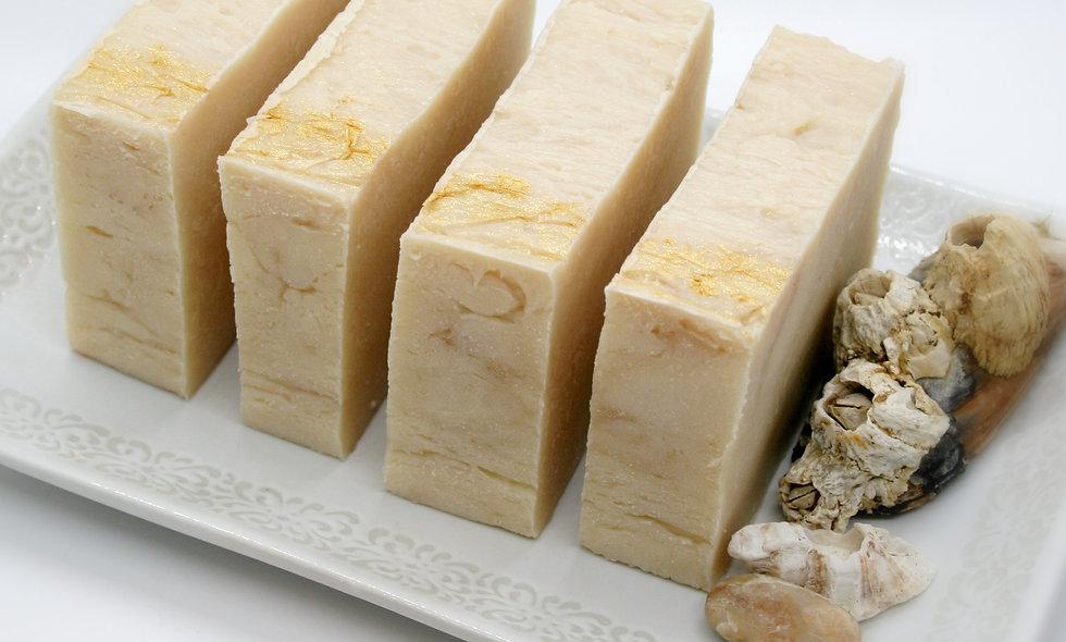 Spiked Eggnog Olive Oil Soap bar