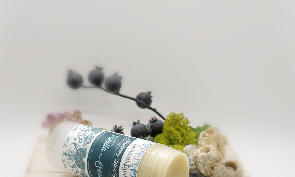 Vanilla cream moisturizing lotion bar