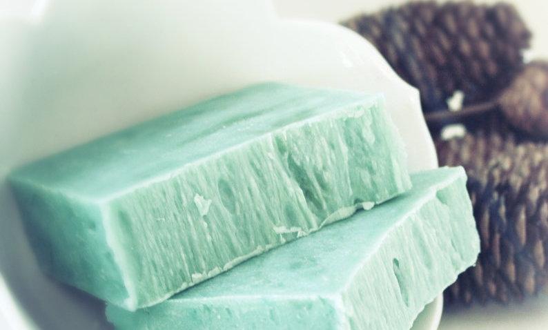 Apple Balsam Olive Oil Soap Bar