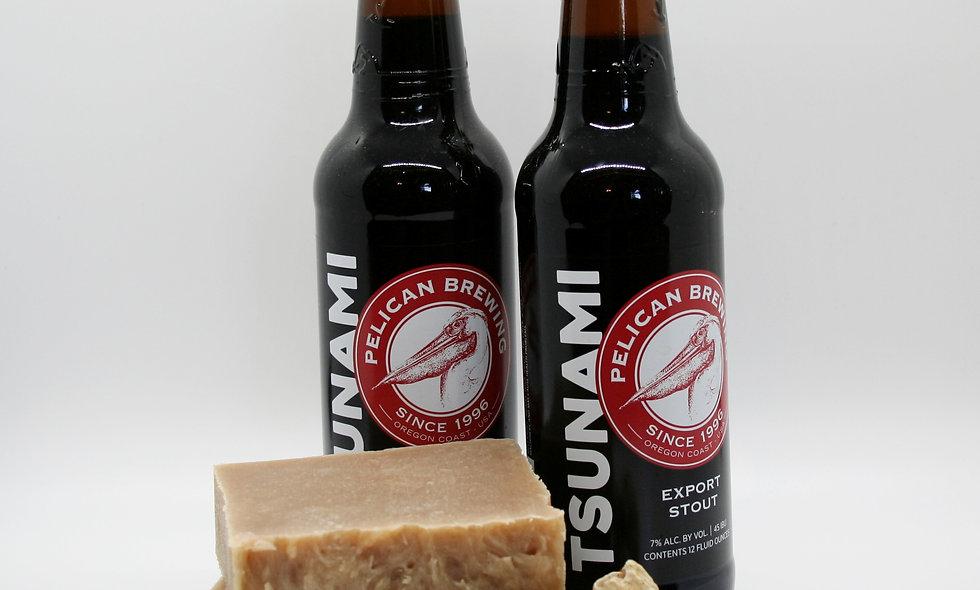 Tsunami Beer Olive Oil Soap Bar