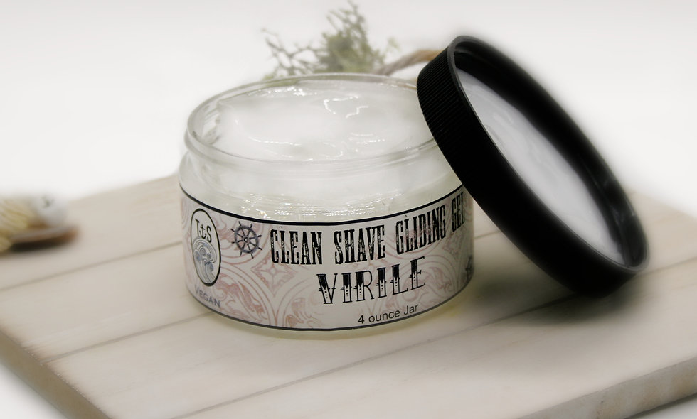 Virile Gliding Shaving Jelly
