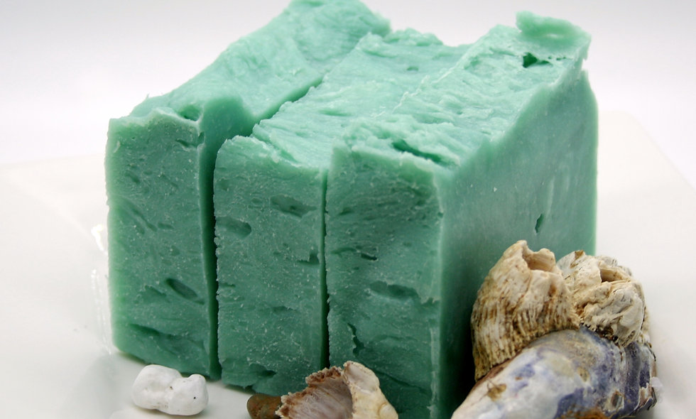 Rosemary and Spearmint Olive Oil  Soap Bar
