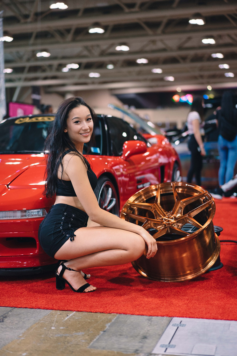 Model Liya Z with Forged Series Prototype 01 Monoblock